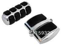 Motorcycle Parts Chrome Gear Shift Brake Pedal Cover For Yamaha V Star 650 Classic 950 1100