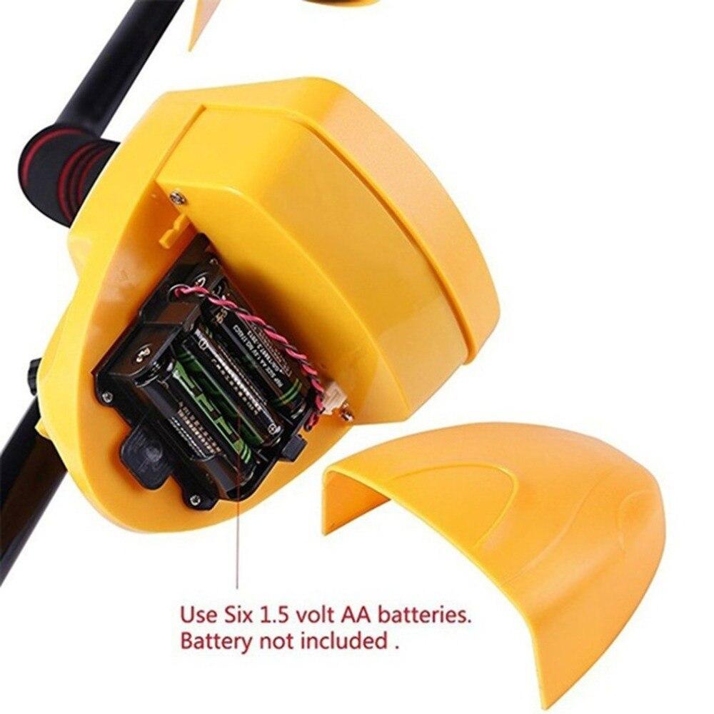 Détecteur de métaux souterrain professionnel MD9020C sécurité haute sensibilité LCD affichage trésor or chasseur détecteur Scanner - 3