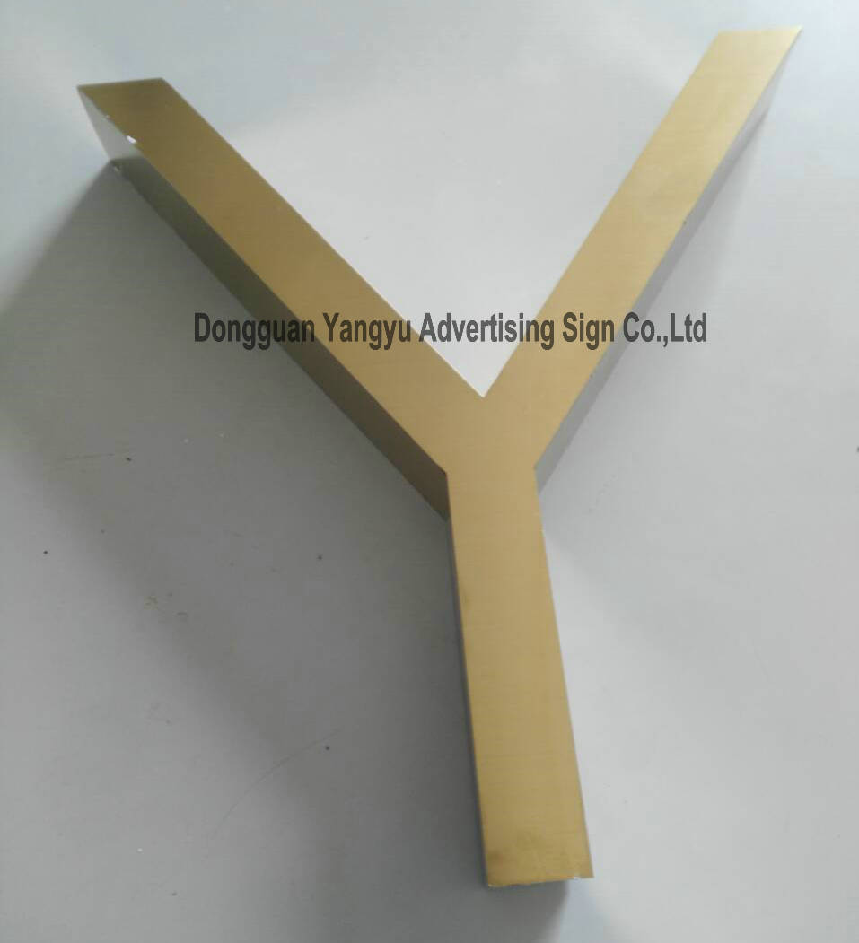 3D customized Polished/Brushed stainless steel Metal sign polished stainless steel ice utility tong 30cm length