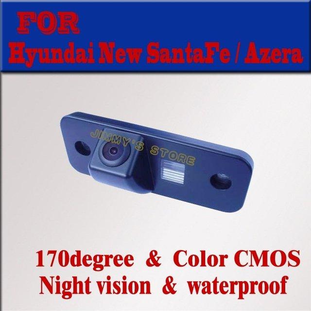 Car Rear View Camera Rearview Reverse Backup Free Shipping for Hyundai New Santa Fe Azera