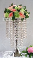 45cm Wedding Table Decoration Centerpiece with Crystal beads garland