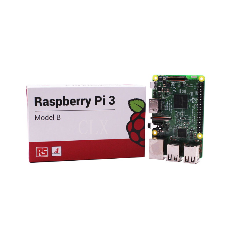 Original Raspberry Pi 3 Model B Board 1GB LPDDR2 BCM2837 Quad-Core Ras PI3 B,Ras PI 3B,Ras PI 3 B with WiFi&Bluetooth raspberry pi 3 model b starter kit pi 3 board pi 3 case eu power plug with logo heatsinks pi3 b pi 3b with wifi bluetooth
