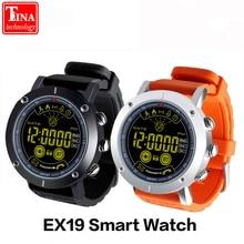 Продажа Смарт-часы EX19 Водонепроницаемый 5ATM Шагомер Smartwatch сверхдальние ожидания Фитнес трекер и длительным временем ожидания для Android