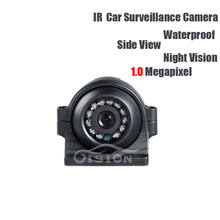 AHD 1.0MP School Bus Truck Side View Camera Left/right Waterproof IR Night Vision CCD Camera for Vehicle Lorry Vans Surveillance