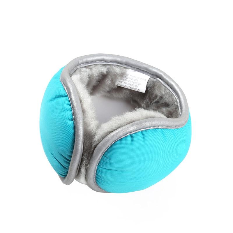AZUE Unisex Ear Muffs Winter Ear Warmers Fleece Earwarmer Mens Womens Behind The Head Design Warm Earmuffs