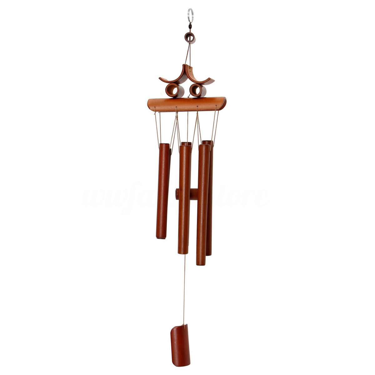 Bamboo Wind Chime Windchime Garden Yard Ornament Decoration Home Decor Lucky