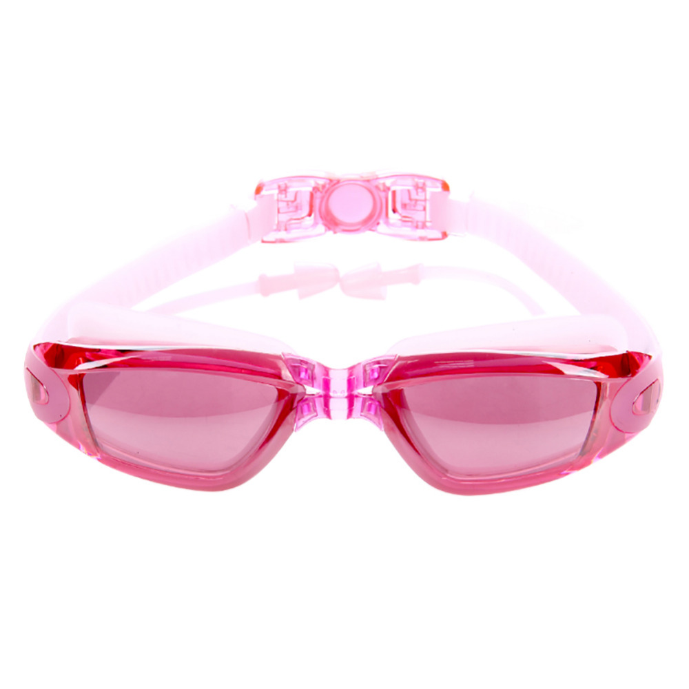 2018 New Swimming Glasses Swimming Goggles Anti Fog UV Protection with protective case, Ear Plugs, Anti-shatter No Leaking Swim