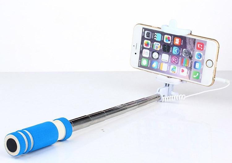 Sıcak Taşınabilir Mini Katlanır Cep Telefonu Kablolu öz - Kamera ve Fotoğraf - Fotoğraf 3