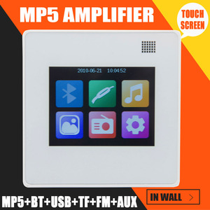 Image 2 - MP5 Player Home music system,Ceiling Speaker system,Bluetooth digital amplifier, in wall amplifier with TFT LCD touch Screen
