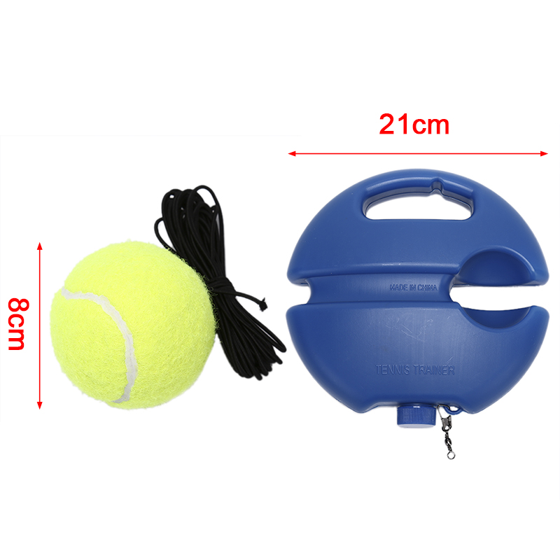 Tennis Training Primaire Tool Oefening Tennisbal Zelfstudie Rebound Bal Tennisbal Zelfstudie Rebound Bal Tennis Trainer Hot Sale