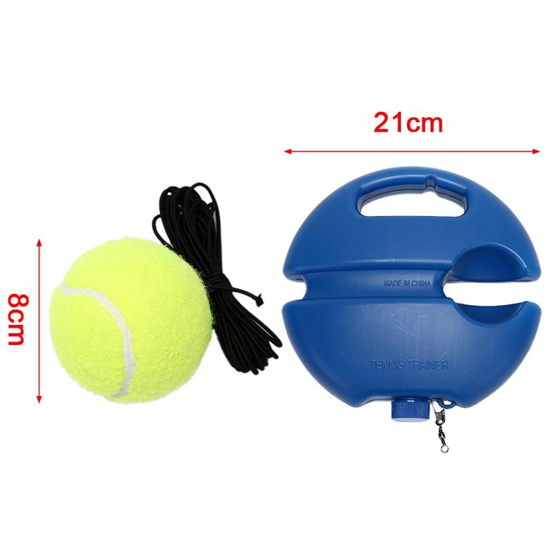 Tennis Training Primaire Tool Oefening Tennisbal Zelfstudie Rebound Bal Tennisbal Zelfstudie Rebound Bal Tennis Trainer Hot Sale