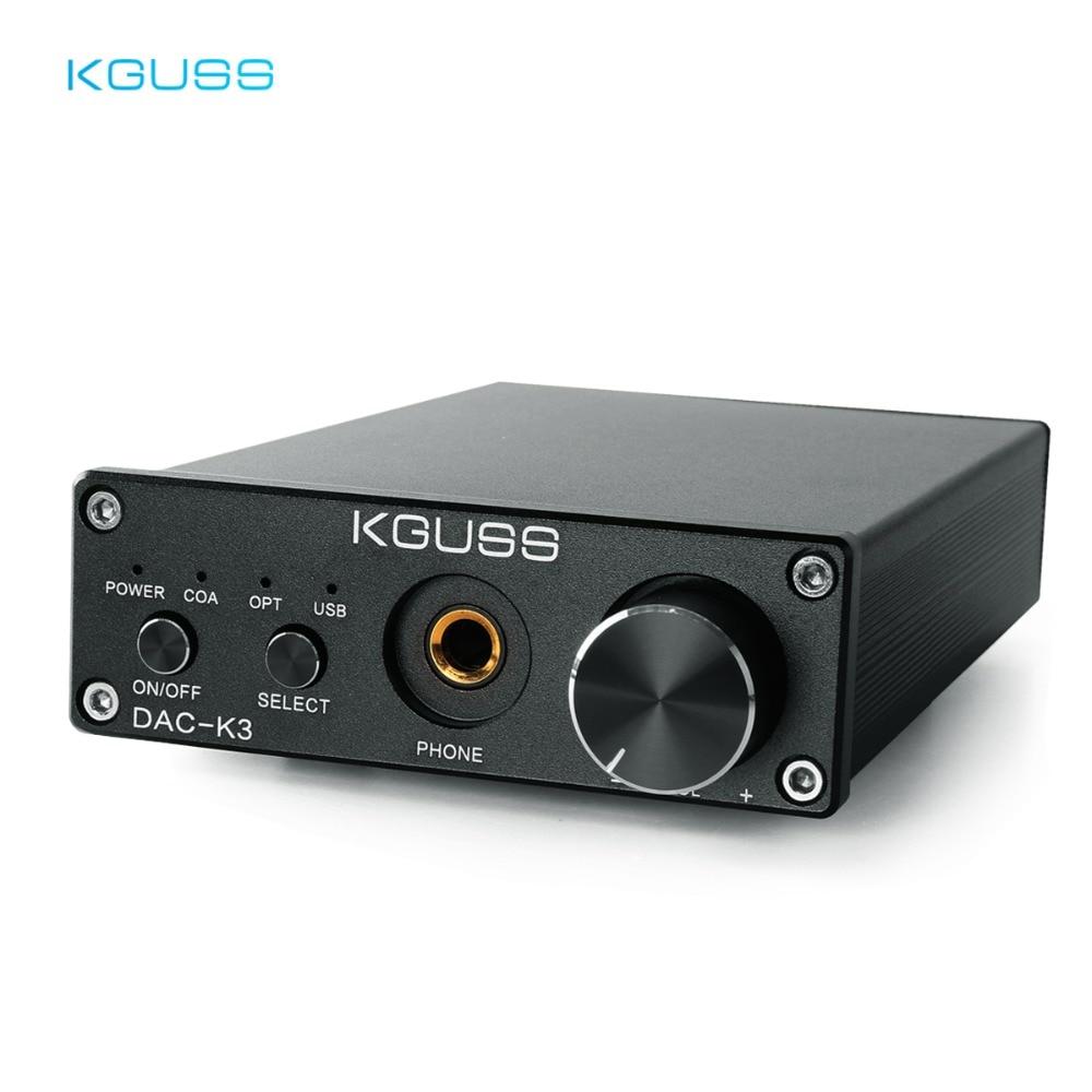 Купить KGUSS DAC K3 TPA6120 2,0 минисистемы USB DAC ...