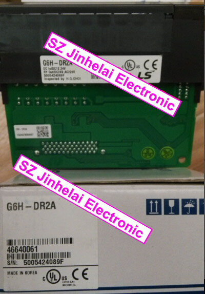 100% New and original  G6H-DR2A  LS(LG)  Hybrid module,PLC 100% new and original g6l eufb ls lg plc communication module e net open type fiber optic