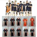 New Anime Haikyuu Karasuno Cosplay Jersey Shirt Shorts Costume High School Volleyball Club Haikyuu Uniform