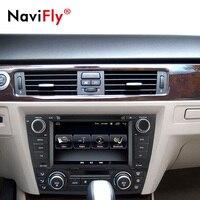 NaviFly Android 8.1 Car dvd multimedia player radio audio For BMW/3 Series E90 E91 E92 E93 GPS Navigation BT RDS