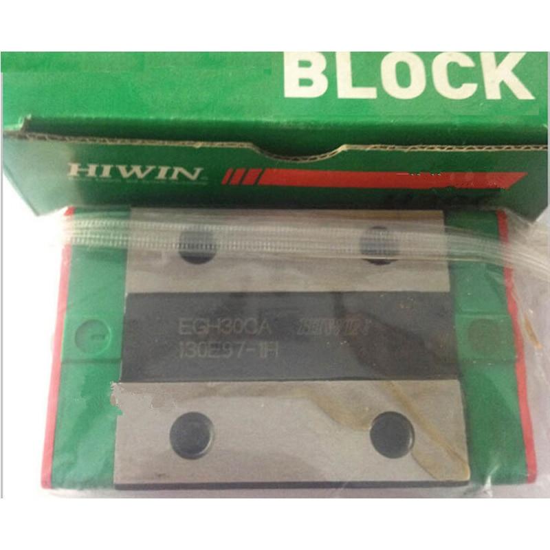 Original HIWIN EGH30CA Linear Guideways Rail Carriage Block for CNC Router hiwin mgn15 mgn15c4r800z0cm linear guideways rail mgnr15r 800mm with 4pcs mgn15c carriage block cnc diy 3d printer miniature