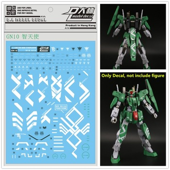 D.L high quality Decal water paste GN10 For Bandai 00 TV 1/100 Cherudim Ebi color Gundam DL135 image