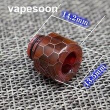 VapeSoon  510 Snake Skin Epoxy Resin Drip Tip For 510 Thread Atomizer Such As Melo 3 mini TFV4 MINI Atomizer etc