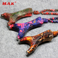 High Quality 3 Style Stable Curing Wood Slingshot Flat Rubber Band Manual Recurve Octagon Wooden Slingshot for Hunting