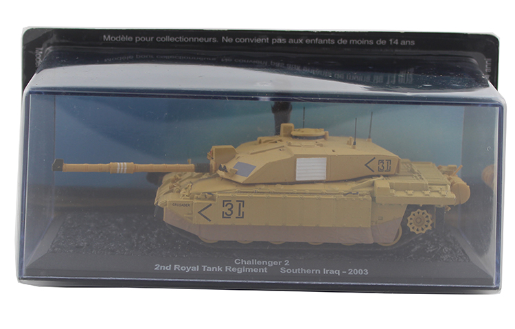 IXO 1/72 Challenger 2, 2nd, Royal, Tank model Alloy collection model Holiday gift ixo 1 43 model of heavy duty wheeled armored vehicle in czechoslovakia sd kfz 234 2 alloy model collection model holiday gift