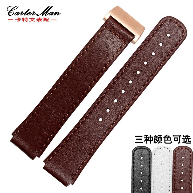 Huawei B2 B3 bracelet intelligent bracelet en cuir véritable 15mm 16mm avec boucle pliante bracelet HUAWEI outils gratuits