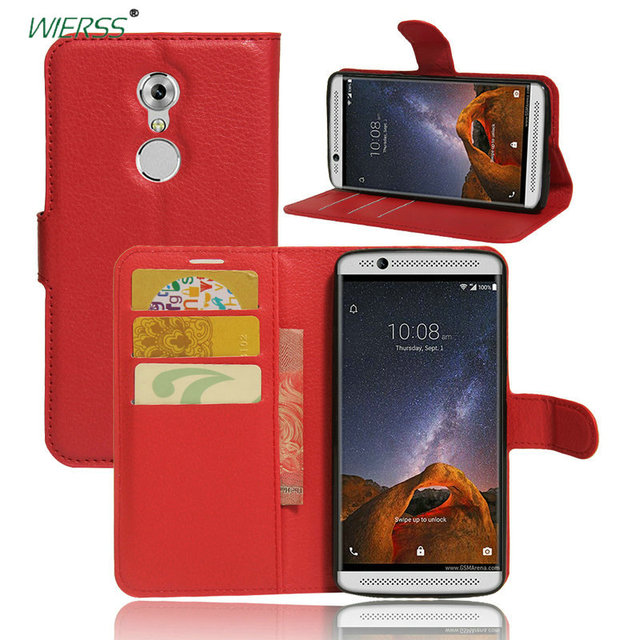 detailed look 53b1b df42c US $3.69 25% OFF|For ZTE Axon 7 A2017 A2017G Wallet Flip Leather Case For  ZTE Axon 7 mini B2017G Blade A610 plus A510 back Cover case+Stand-in Fitted  ...