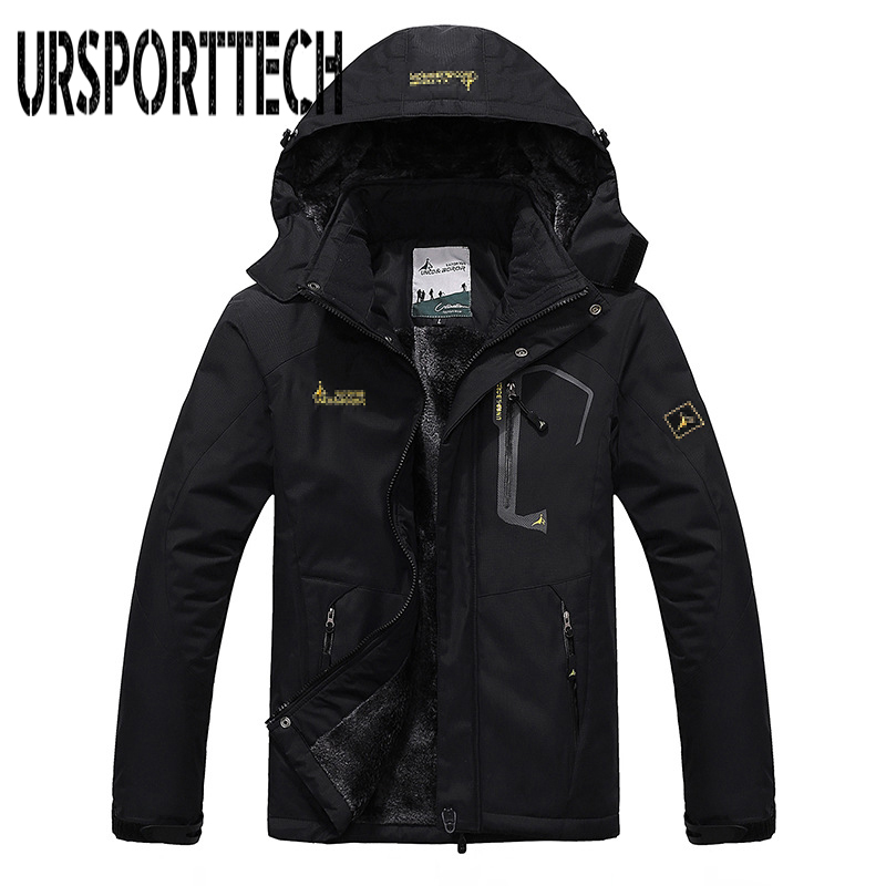 Brand Men's Winter Jackets Mens Thicken Patchwork Outwear Coats Male Hooded Parkas Thermal Warm Windproof Coat Plus Size M-6XL