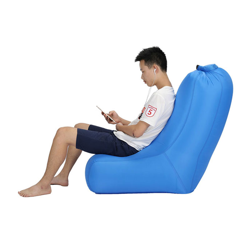 Marvelous Us 18 79 40 Off Inflatable Couch Lazy Sofa Air Chair Camping Pool Festival Summer Accessories For Beach Collapsible Air Beanbag Pouch Couch Bag In Creativecarmelina Interior Chair Design Creativecarmelinacom