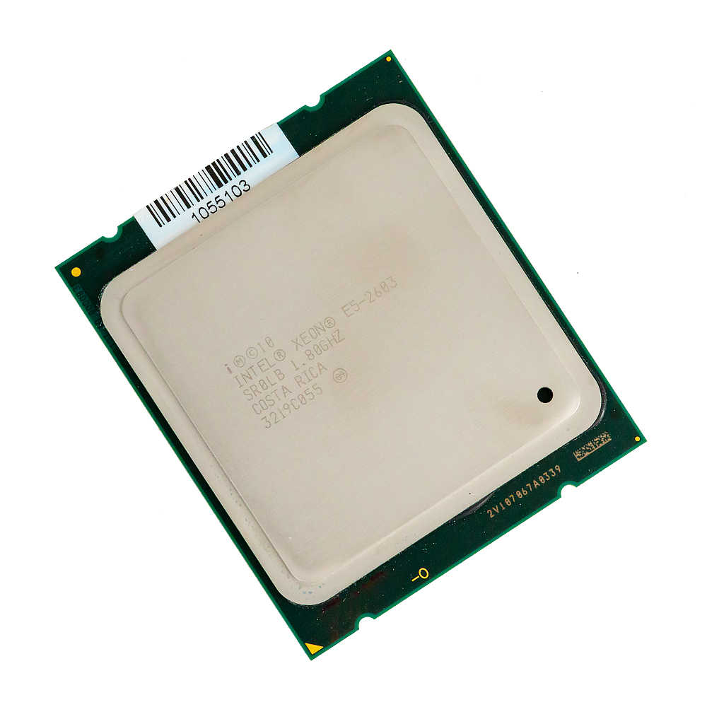 Intel Xeon E5-2603 Desktop Processor 2603  Quad-Core 1.8GHz 10MB L3 Cache LGA 2011 Server Used CPU