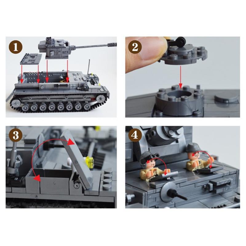 KAZI-82010-1193pcs-Large-Military-Tanks-Building-Blocks-Toys-For-Children-tank-Bricks-Educational-Bricks-Toy (4)