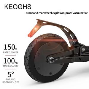 Image 5 - החושית חשמלי מופעל חשמלי קטנוע למבוגרים מתקפל מיני PU2 גלגלי קטנוע ליתיום חשמלי כונן אלומיניום סגסוגת