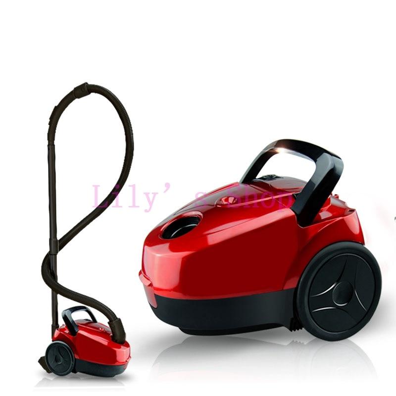 JIQI Mini Vacuum Cleaner sweeper household powerful <font><b>carpet</b></font> bed mites catcher cyclone dust Collector aspirator duster EU US plug