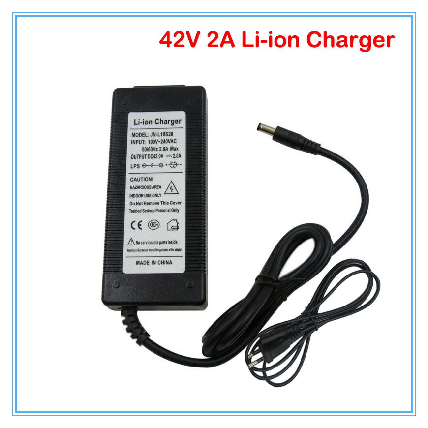 Accessories & Parts Chargers 10pcs/lot 42v 2a Dc Charger Input 100-240vac Used For 36 Volt 10s Lithium Li-ion Electric Bike Battery Pack Dhl Free Shipping Limpid In Sight