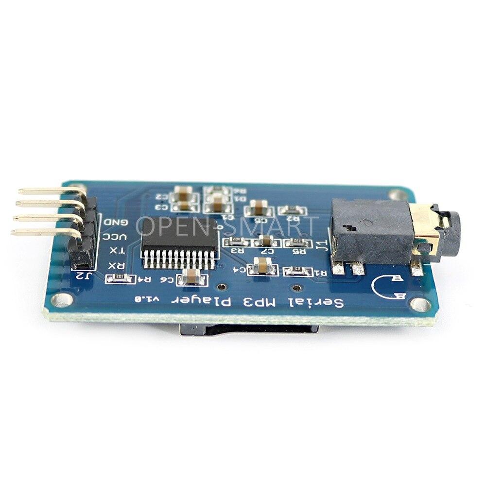 MP3-modul UART-kontrol Serial MP3-afspiller med - Industrielle computere og tilbehør - Foto 3