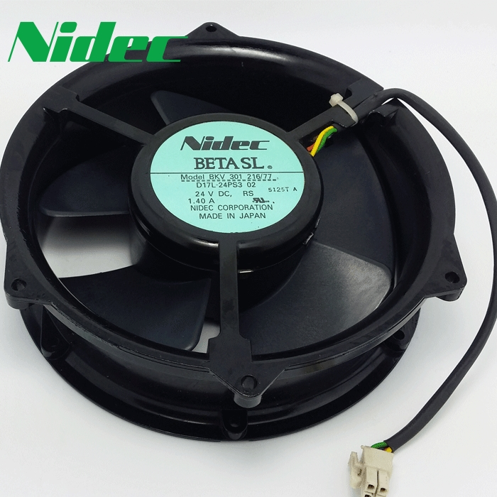 все цены на nidec Free Shipping New BKV 301 216/77 D17L-24PS3 02 170 * 170 * 50mm 17cm 170mm DC 24V 1.40A cooling fan онлайн
