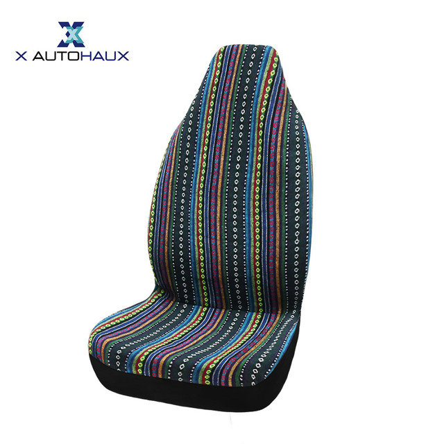 X Autohaux One Piece Of Automotive Baja Blanket Universal Bucket Seat Covers For Car Truck SUV