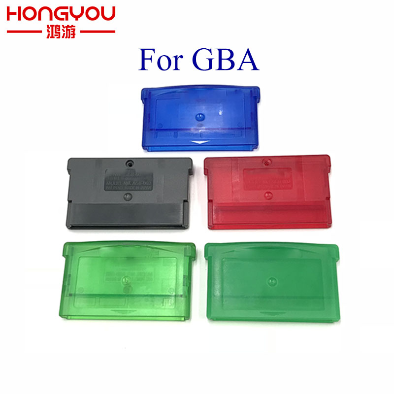 For Gameboy Advance GBA Empty Game Cartridge Shell Case Card Box For GBA GBA SP NDSL NDS