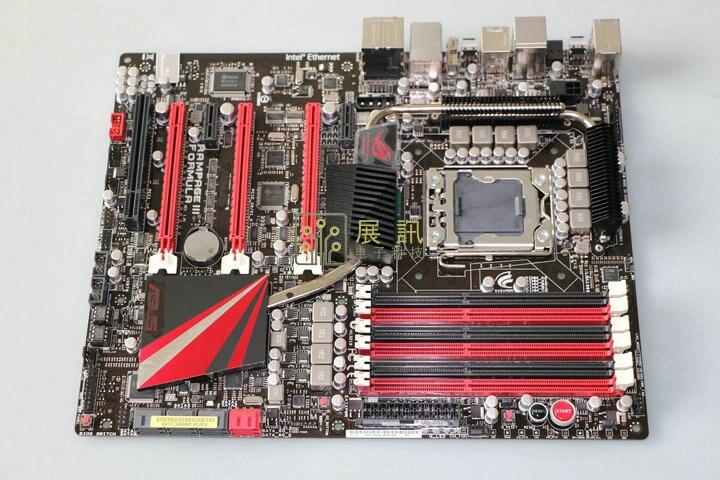 ASUS Rampage III Formule originale carte mère LGA 1366 DDR3 22nm CPU 24 gb USB2.0 UBS3.0 X58 carte mère de bureau livraison gratuite