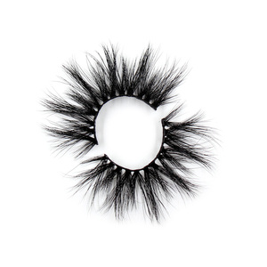 Image 4 - LEHUAMAO pestañas postizas de visón 5D, 25mm, hebras entrelazadas, Sin crueldad, volumen alto, suaves y espectaculares