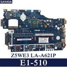 Kefu Z5WE3 LA-A621P ноутбук материнская плата для Acer E1-510 Тесты оригинальная материнская плата