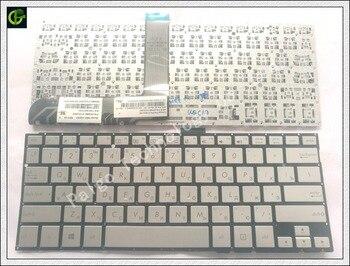 Clavier russe pour ASUS Vivobook Flip Q302 Q302L Q302LA P302LJ TP300 TP300L TP300LA TP300LD TP300UA P302 Q304 RU argent
