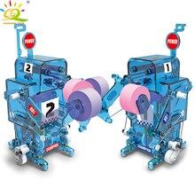Boxe Poder Lutador Modelo de Robô kit de Montagem de blocos de Construção Eletrônica DIY Criativo de Construção brinquedos Educativos para crianças