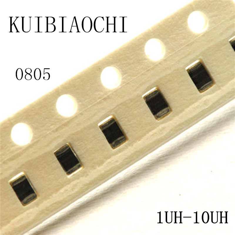 50pcs/lot 0805 SMD Inductor 1uH 1.2uH 1.5uH 1.8uH 2.2uH 2.7unH 3.3uH 3.9uH 4.7uH 5.6uH 6.8uH 8.2uH 10uH 4000pcs 2012 0805 12nh chip smd multilayer high frequency inductor
