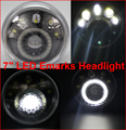 7 inch Motorcycle LED Head Lamp Cafe Racer E-Mark 4 High Low Beams Chopper E-Mark 24 Headlamp Sportster Custom LED Head Lights