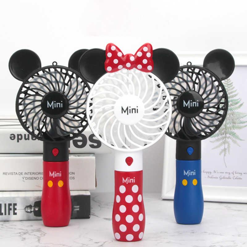 Ruipunuosi USB Leafless Fan Simple Handheld Mini Fan Portable Desktop Fan Cute Creative Small Fan Summer Travel Camping Fan