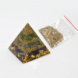 Image 5 - Convite da flor de bronze _ cobre _ ferro limalhas diy mão sucata geometria ornonite energia torre material pacote pirâmide