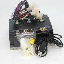 Интеллектуальный бесщеточный контроллер синусоидальной волны 72 в 150 А для электровелосипеда, бесщеточный контроллер синусоидальной волны