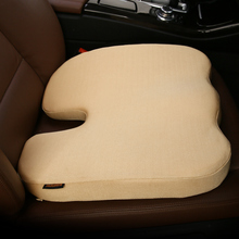 Coccyx Orthopedic Memory Foam Seat Cushion Helps With Sciatica Back Pain - Perfect for Your Office Chair Car Covers