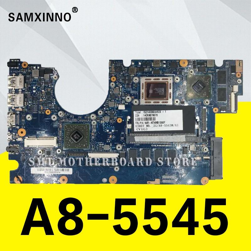 все цены на U38DT-A8-5545 CPU-2G RAM Motherboard For ASUS U38D U38DT Notebook notebook motherboard mainboard