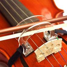Акрил Скрипка Лук корректор коллиматор инструмент для выравнивания для начинающих 4/4 3/4 1/2 1/4 1/8 аксессуар для скрипки